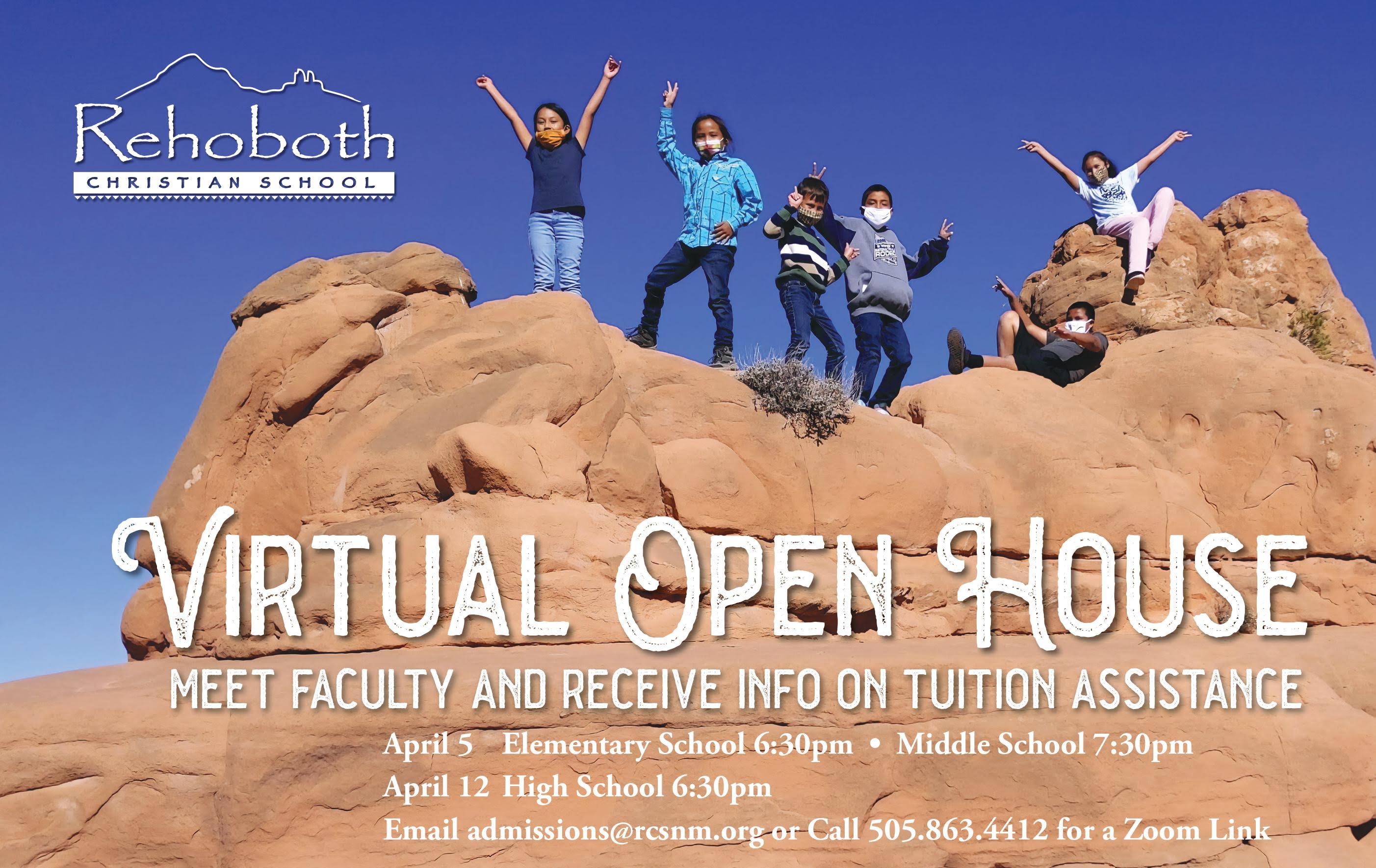 Virtual Open House for High School